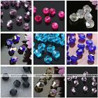 300pcs AB Crystal Glass Faceted Bicone Loose Beads Jewelry Making Craft 3mm/4mm