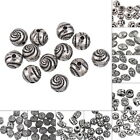 Charms Antique Silver Plastic Acrylic Beads DIY Jewelry Findings