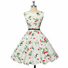 SUMMER Vintage STYLE Retro Swing 50's 60's pinup Housewife Prom Dress