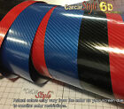 6D Gloss  【750MM X 500MM】 Carbon Fibre Vinyl Wrap Film Sticker 5D Upgraded
