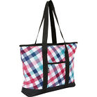 Everest Deluxe Shopping Tote Bag 2 Colors Fabric Handbag NEW