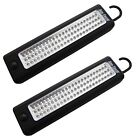 2 X 72 LED ULTRABRIGHT HANGING INSPECTION LIGHT MAGNETIC WORKLIGHT CAMPING TORCH