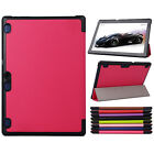 Ultra Thin PU Leather Stand Case Cover for 10.1inch Lenovo TAB2 A10-70 Tablet