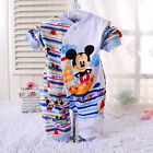 Long Sleeve Newborn Baby Boys Mickey Mouse 0-18M Rompers Pants Playsuit Jumpsuit