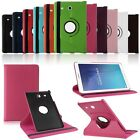 """360 Rotating PU Leather Smart Case Cover Stand fr 9.6"""" Samsung Galaxy Tab E T560"""