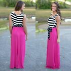 Sexy Womens Summer Long Maxi Evening Party Dress Beach Dresses Boho Sundress