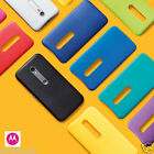 GENUINE ORIGINAL MOTOROLA SHELL BACK COVER/CASE FOR MOTO G 3RD 3 GEN 3G NEW