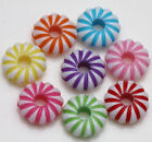 Lots Mixed Acrylic Loose Spacer Bead Charm Bracelet Jewelry Finding Optional