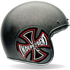 BELL CUSTOM 500 MOTORCYCLE HELMET - INDEPENDENT - BLACK FLAKE