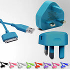100% Charger Data Usb Cable And Plug For Apple Iphone 4 4s 3gs Ipod Touch Ipad 2