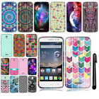 For Alcatel OneTouch POP Astro 5042N 5042T Design TPU SILICONE Case Cover + Pen