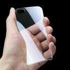 New Ultra Thin Crystal Clear Transparent Hard Back Cover Case for iPhone 4 4G 4S