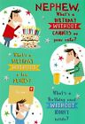funny / humorous nephew birthday card - 3 x cards to choose from