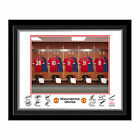 Personalised Manchester Man United Dressing Room Shirt Photo Any Name & Number
