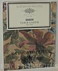 "RAYMOND WAITES CLOTH TABLECLOTH Autumn Fall Antique 60"" 102/120 rectangle round"