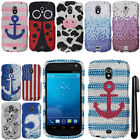 For Samsung Galaxy Nexus CDMA i515 DIAMOND GEM BLING HARD Case Cover Phone + Pen