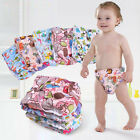Washable Baby Nappy Cloth Cover Reusable Pocket Diaper 0-3 years Changeing Pads