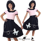 CK541 50s Hop Poodle Skirt Pink Girls Child Book Week Fancy Dress Costume Outfit