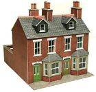 Metcalfe Red Brick Terraced Houses (00 Gauge) PO261 Railway Model Kit