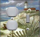 LIGHTHOUSE No. 2 - LIGHTHOUSE NAUTICAL HOME DECOR LIGHT SWITCH PLATES OR OUTLETS
