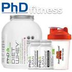 PhD Nutrition Diet Whey 2kg + 2 x PhD Lean Degree 100 caps + FREE Shaker