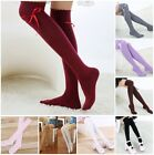 Cotton Women Girls Knit Over Knee Thigh Stockings High Socks Pantyhose Tights