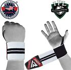 RDX Weight Lifting Wrist Straps Elasticated Gym Wraps Bodybuilding Grip Support  <br/> ✅Approved and Recognized by the IPL & USPA ✅Thumb Loop