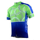 2015 New Green Gear Bike Short Sleeve Top Shirt Bicycle Cycling Jersey S-3XL