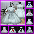 UKD70A White 2 Way Wear Baby Gift PartyFlower Girls Dress 1 to 14 Yrs