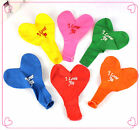 Wholesale 20/50/100Pcs Mixed Heart Shape Latex Balloons Wedding Party Supplies