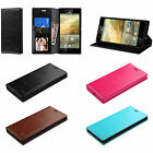 1 Folio Flip Stand Cover Carry Case For ZTE Boost Mobile N9518 N-9518 Warp Elite