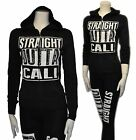 Junior Plus Size Straight Outta Zip UP Hoodie Sweater, Pockets 1X,2X,3X