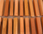 100 Spanish Cedar solid wood turning squares 5/8 x 5/8 x 5 inches long kilndried