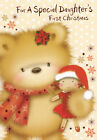 cute for a special DAUGHTER'S 1ST CHRISTMAS your first christmas daughter card