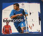 OLDHAM ATHLETIC HOME PROGRAMMES 2004-2005