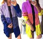 Chic Women Sweater Warm Coat Long Sleeve Knitted Tops Cardigan Party Outwear New