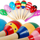 Child Musical Development Percussion Baby Kid Wooden Ball Rattle Sand Hammer Toy