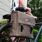 New Retro Cycling Bike Bicycle Rear Rack Bag Shoulder 14L Waterproof Handbag
