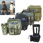 Waterproof Fishing Tackle Bag Pack Shoulder Waist Box Reel Lure Storage PSHG