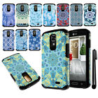 For LG F70 D315 Anti Shock TPU HYBRID HARD Back Silicone Case Phone Cover + Pen