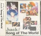 .hack Song Of The World Anime CD Album (New & Sealed)