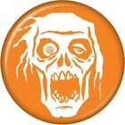 New Zombie Head Orange Badge