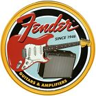 Fender Guitars & Amplifiers Since 1946 Tin Sign 30x30cm