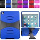 2Layer Rugged Hybrid U-Case Cover w/Side Stand For Apple iPad Mini 4