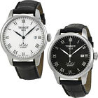 Tissot T-Classic Le Locle Leather Automatic Mens Watch Black | Silver