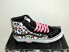 VANS SK8-HI SLIM NEON LEOPARD TRAINERS. BNIB. SEE LISTING FOR AVAILABLE SIZES