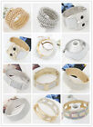 New Design Fashion Shiny Metal Exaggerated Bracelet Women Jewelry Unique Charms