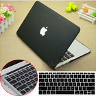 """2in1 Black Rubberized Hard Case Cover Cut-out for MacBook Pro 13"""" Air 11/13""""inch"""