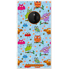Big Eye Cute Owl Wallpaper Hard Case For Nokia Lumia 830