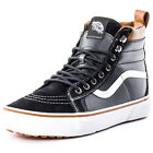 Vans SK8-Hi MTE Mens Leather Black White Trainers New Shoes All Sizes